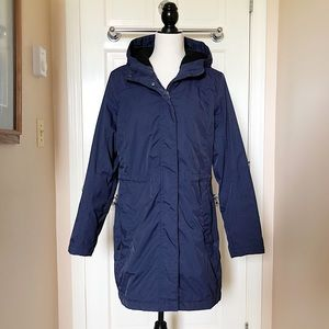L.L. Bean Navy Blue Hooded Jacket